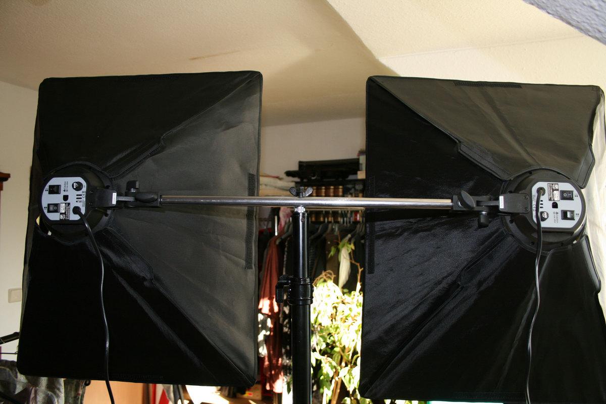 Tageslicht fotolampen reflektoren anstatt baustrahler par for Foto lampen